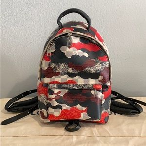 Louis Vuitton Palm Springs Backpack Patchwork Wave